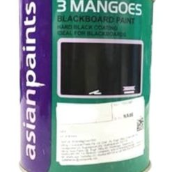 Asian Paints Black 3 Mangoes Blackboard Paint