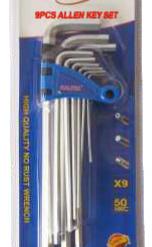 Caltex Allen Key Set - Long Hex