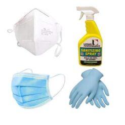Mask & Sanitizers