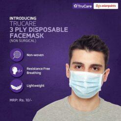 Disposable Asian paints Face mask,